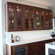 Contemporary Kitchen Lighting And Cabinet Lighting Lake Washington Residence