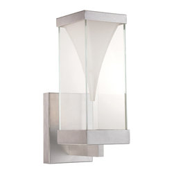 Modern Forms - Modern Forms WS-W2116AL Vortex Brushed Nickel Outdoor Wall Sconce - Modern Forms WS-W2116AL Vortex Brushed Nickel Outdoor Wall Sconce