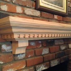 Traditional Fireplaces by The Mantel Guy .com