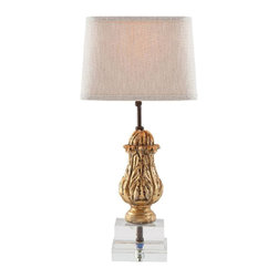 Aidan Gray - Aidan Gray Eternal Flame Lamp Set of 2 BCL216 - What this lamp's petite fragment lacks in size it makes up with its beauty. Meant to honor the many women who have been taken from us due to breast cancer, this little lamp holds a flame that will burn in their honor eternally.