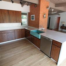 Midcentury Kitchen by Rucker Design Build