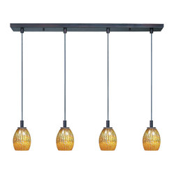 Carte 4-Light Linear Pendant
