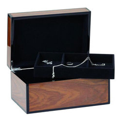 The Secret Box - This lacquered wood box is made for secrets--your favorite earrings, a love letter, the keys to that new car. Keep your precious things safe in this sleek container.