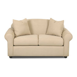 Savvy - Chicago Loveseat in Fastlane Oatmeal - Chicago Loveseat in Fastlane Oatmeal