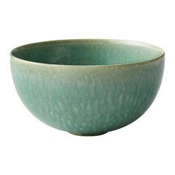 Jars - Tourron Jade Large Serving Bowl - Tourron collection by Jars is made uniquely, with its subtle colors and shape variations that express true artisanal art. This collection is shaped and glazed by hand.