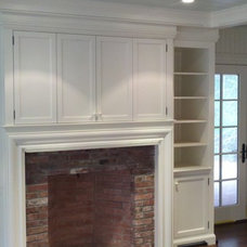 Traditional Entertainment Centers And Tv Stands by Toby Leary Fine Woodworking Inc.