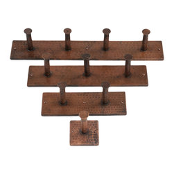 Premier Copper Products - Hand Hammered Copper Single Robe Hook - BRAND: Premier Copper Products