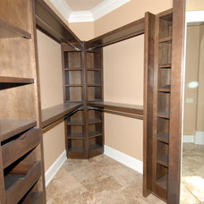 Traditional Closet by Dewan Cabinetry