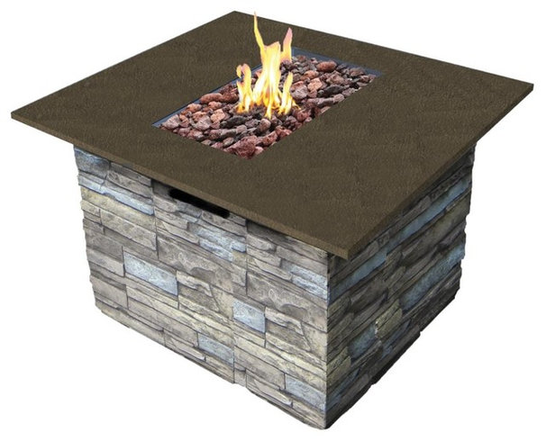 Contemporary Fire Pits by Overstock.com