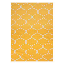 Jaipur - Jaipur Maroc Delphine MR65 RUG104190 Area Rug - An array of simple flat weave designs in 100% wool - from simple modern geometrics to stripes and Ikats. Colors look modern and fresh and very contemporary.