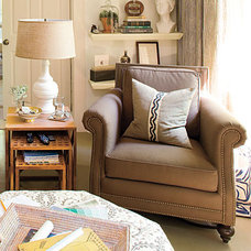 Living Room Decorating Ideas: Club Chairs < A Living Room Redo with a Personal T