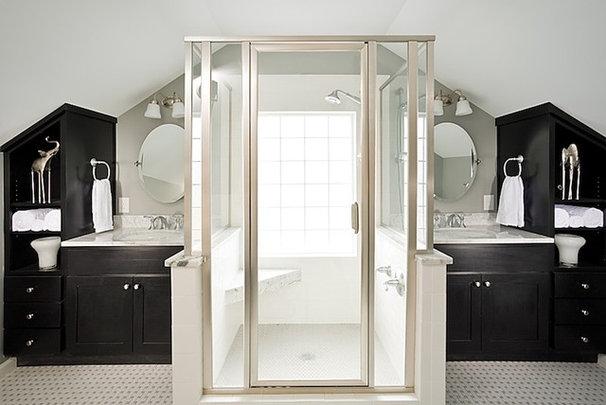 Modern Bathroom by Renewal Design-Build