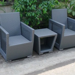 Production of Wicker Synthetic for the Outdoors -