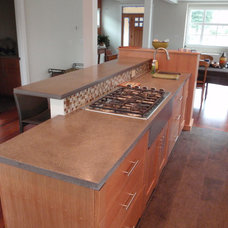 Contemporary Kitchen Countertops by VC Studio Inc.