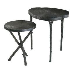 Cyan Design - Cyan Design Lighting 03083 Tripod Side Table - Cyan Design 03083 Tripod Side Table