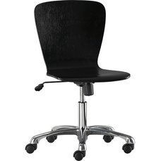 Felix Black Office Chair in Office Chairs   Crate and Barrel