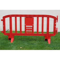 MLR INTERNATIONAL - Movit Barricade - Red - Red Plastic Movit Barricade