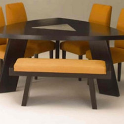 Our Academy Awards of Furniture: The Oscar Goes To? - Beauty and comfort can be achieved when you enjoy the custom Izzy dining table. Awarded the Oscar for Best Dining Table, this uniquely shaped piece has its competitors trailing miles behind.