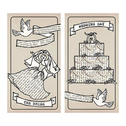 Wedding Matches - The ideal favor or small token in wedding receptions, bridesmaid gifts or newlyweds...light the candles and celebrate the occasion or remember it like it was yesterday, the Wedding Matches