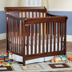 Child Craft - Child Craft Ashton Mini 4-in-1 Convertible Crib - F56201.85 - Shop for Cribs from Hayneedle.com! If someone could make a pair of self-tying shoes that grew with your child the way the Child Craft Ashton Mini 4-in-1 Convertible Crib does we'd put their faces on money. Until then your little one will sleep soundly in this convertible 4-way crib and mattress set. It starts as a bassinet with the mattress up high where you can reach your infant. As they grow the mattress can be lowered into a standard crib position and then by incorporating the toddler guard rail or twin bed rails you have the option to extend it even further. The body is crafted from solid wood with a smooth and sanded finish that's offered in a range of classic colors to fit any nursery. The finish is non-toxic and safe for children of any age. The thick foam mattress is included so you're just a few cute sheets away from a full night's sleep. Every Child Craft crib meets or exceeds government safety standards and is certified by the Juvenile Products Manufacturers' Association (JPMA). About Child CraftFounded in 1911 in Salem Indiana Child Craft Industries is a family-owned American company synonymous with quality and value. Manufacturer of cribs and children's furniture the company is very strongly committed to product standards and safety and combines beautiful design and innovative features with sturdy construction and superior craftsmanship. The principles of quality and integrity that served to guide the company for nearly 100 years remains unchanged even today and Child Craft continues to be a respected name in children's furniture.