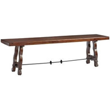 Contemporary Dining Benches by Pier 1 Imports