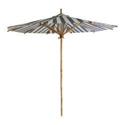 Phat Tommy - Phat Tommy 7-foot Bamboo Umbrella - The Phat Tommy 7-foot umbrella is hand-crafted from solid bamboo with an inspiring design that also respects the earth. Lightweight yet sturdy,it is carefully hand crafted with sustainable bamboo material.