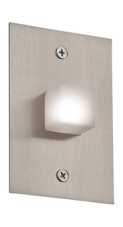 Eurofase Lighting - Eurofase Lighting 22533 Indoor In Wall Square Wall Sconce - Demonstrate fashionable elegance in your home with this wall sconce. Reward yourself with this stylish wall sconce featuring led bulbs.Features: