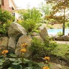 Traditional Landscape by Berry Outdoor Living, Inc.  - Landscape Designer