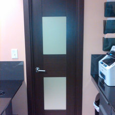 Modern Interior Doors by Liberty Windoors Corp.