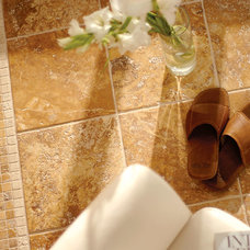 Mediterranean Floor Tiles by Marble Systems, Inc.