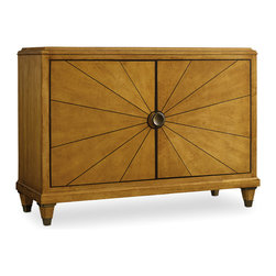 Hooker Furniture - Hooker Furniture Palisade Door Chest 5184-85001 - If you embrace modern style but still revere traditional design, and if you seek a contemporary flair but appreciate classic beauty, then the Palisade collection offers you the best of both worlds.