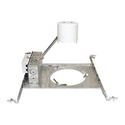 """NATIONAL BRAND ALTERNATIVE - Recessed Housing 6"""" CFL 1-26W or 32W - Features:"""