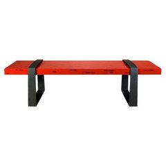 contemporary benches by Dennis Miller Associates