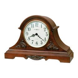 Howard Miller - Howard Miller Dual Chime Carved Wood Mantel Clock | SHELDON - 635127 SHELDON