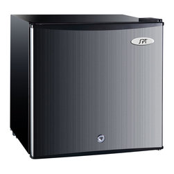 SPT - Stainless Steel 1.5-cu-ft Upright Freezer UF-150SS - Color: Stainless steel Overall dimensions: 18.5 inches wide x 17.75 inches deep x 19.5 inches highInput voltage: 115V / 60HzPower input: 138 watts