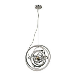 Trans Globe Lighting - Trans Globe Lighting PND-978 Pendant Light In Polished Chrome - Part Number: PND-978