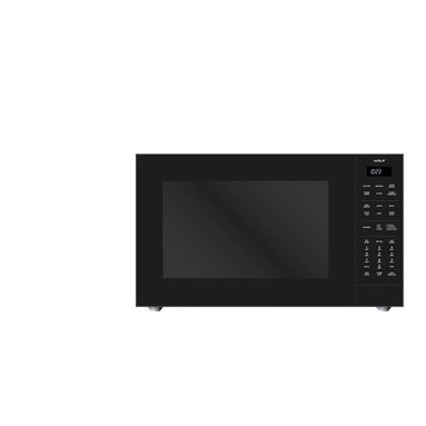 """WOLF 24"""" Convection Microwave Oven Black 
