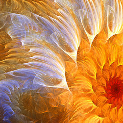 Flower's Glow - Fractal Art Collection