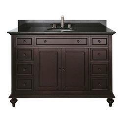 "Avanity - Avanity Merlot 48 Vanity Cabinet Only, Espresso (MERLOT-V48-ES) - Avanity MERLOT-V48-ES Merlot 48"" Vanity Cabinet Only, Espresso"