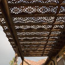 Mediterranean Outdoor Umbrellas by Parasoleil