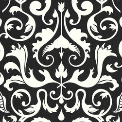 AS Creation - 669377 Black and White Wallpaper, Double Roll - Wallpaper accent wall is a new trend and we at Designers Wallpaper have a solution - modern and stylish non-woven wallpaper from leading European designers for any taste and styles to choose from