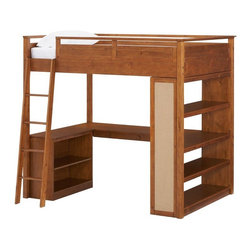 """Sleep + Study Loft Bed - I am not going to lie, I wish my loft bed in college was this cool. This bed has been on my wish list for years. Both of my children would benefit from the space-saving option it offers. Unfortunately, the price tag has kept me from clicking """"Add to Cart"""" for years."""