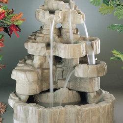 Henri Studios - Large Rock Falls Fountain -