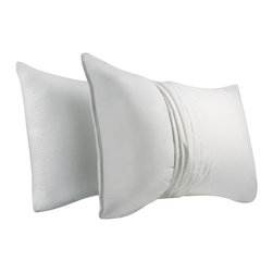 Pacific Coast - Allersure Pillow Protector King - The AllerSure pillow protector blocks dust mites and harmful allergens from entering your pillow. The specially woven 100% cotton fabric is soft and durable for long-term protection.