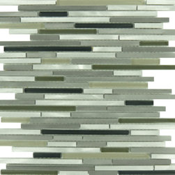 Euro Glass - Metallic Weather Orbit Aluminum Series Glossy and Brushed Aluminum and Glass - Sheet size: .96 Sq. Ft.