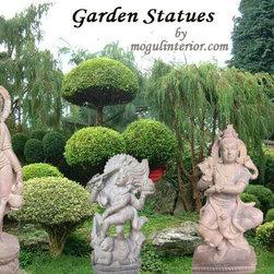 Garden Sculpture Shiva Statue - http://www.mogulinterior.com/lord-shiva.html