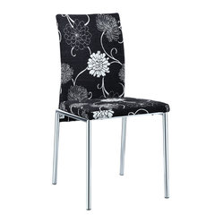 Floral Elegance Dining Chair