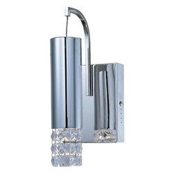 ET2 Lighting - ET2 Lighting E23240-20PC Crystal Wall Sconce in Polished Chrome - ET2 Lighting E23240-20PC Crystal Wall Sconce In Polished Chrome