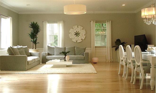 Contemporary Living Room by Melissa Miranda Interior Design