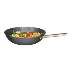 13-inch Cast Iron Wok with Lightweight Heat